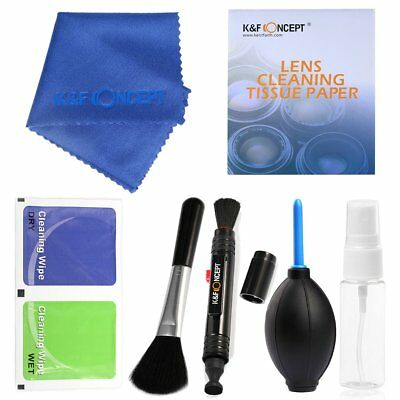 Professional Lens Cleaning Kit Pen Cloth Tissue Cleaner For Canon Nikon Camera