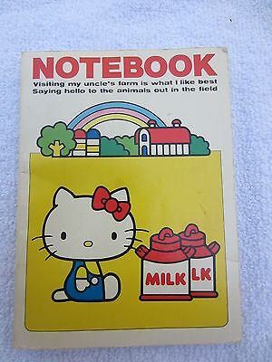 Hello Kitty Notebook ~ Love Collection ~ Vintage 1976 ~ Sanrio