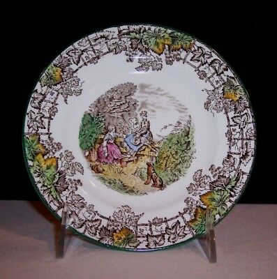 Vintage Copeland Spode's Byron Dessert Bread Plate - Made In England - EXC