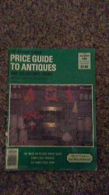 The Antique Trader Price Guide To Antiques Magazine December 1985