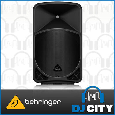 Behringer B15X Powered 15 Inch PA Party DJ Speaker 1000W w/ New Control App