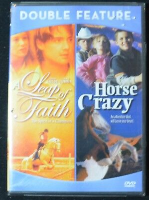 Horse Crazy / A Leap of Faith (DVD, DOUBLE FEATURE)  NEW
