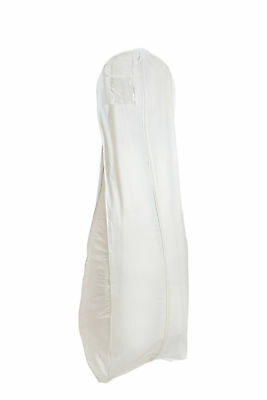 Wedding Dress Garment Bag Gown Cover  Breathable Storage Bridal Zipper Protector
