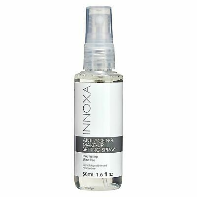 NEW Innoxa Anti Aging Makeup Setting Spray Low Sheen Face Beauty Cosmetic Makeup