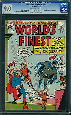 Worlds Finest #152 Cgc 9.0 Owtw Pages