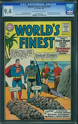 Worlds Finest #141 Cgc 9.4 Owtw Pages