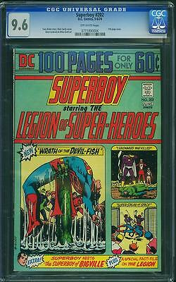 Superboy #202 CGC 9.6 OW Pages