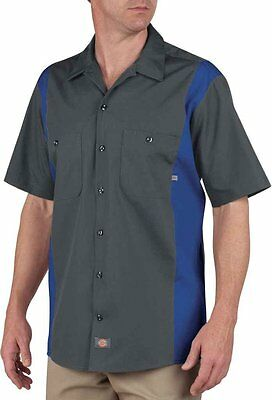 Dickies Occupational Workwear LS524CHRB 3XLT Polyester (C)