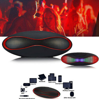 Bluetooth Lautsprecher Wireless Soundbar Tragbarer Speaker Mini Musikbox Usb.