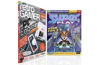 Retro Gamer Magazine 172 & Super Play 48 Nintendo SNES Mini Classic NEW SEALED