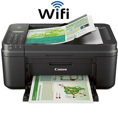 Canon PIXMA All-in-One Printer Scanner Copier Fax Wireless Printing Machine WiFi