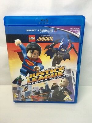 LEGO Batman DC Super Heroes: Justice League Attack of the Legion of Doom Blu-Ray