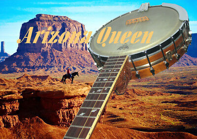 "5string Banjo ""Arizona Queen"" überlegener Klang durch einmalige Tonkonstruktion!"