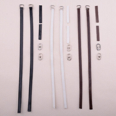 Detachable PU Leather Shoe Belt Strap Band For Holding Loose High Heeled Shoes