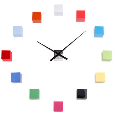 KARLSSON WALL Clock DIY Cubic in Multicolored Personalisable