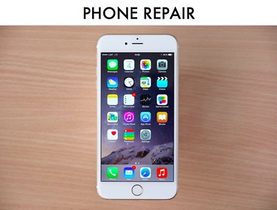 Apple iPhone 6S 6 S Cracked LCD Digitizer Glass Screen Mail In REPAIR SERVICE