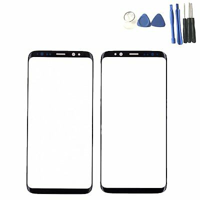 Replacement Front Outer Glass Touch Screen Panel For Samsung Galaxy S8 & S8 Plus