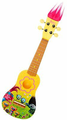 New In Box Licensed DREAMWORKS Trolls Kid's UKELELE (Guitar) by First Act Inc