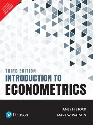 Introduction to Econometrics, 3e  by James H. Stock and Mark W. Watson