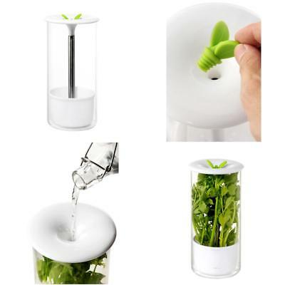 HERB KEEPER AND Herb Storage Container Keep Your Herbs Fresh for Up