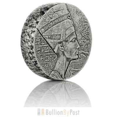 2017 Queen Nefertiti 5-Ounce Silver Coin