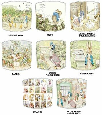 Childrens Beatrix Potter Lampshades Ideal To Match Beatrix Potter Cushion Covers