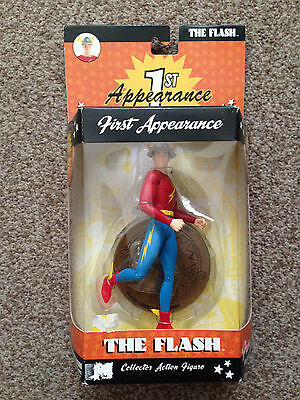 """DC Direct Comics 1st APPEARANCE of THE FLASH 6"""" NEW/SEALED"""