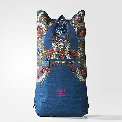 ADIDAS ORIGINALS DAMEN Borbomix Roll Top Rucksack Multicolor