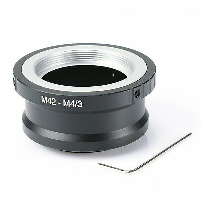 M42-M4/3 Adapter Ring for M42 Lens to Micro 4/3 Olympus Panasonic M43