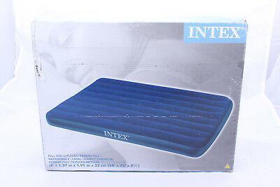 Intex 68758 Luftmatratze, Blue, 137 x 191 x 22 cm *TOP*