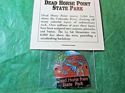 Dead Horse Point State Park Hiking Medallion Utah Travel Souvenir (H45)