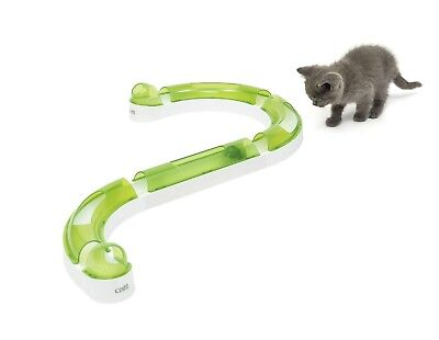 Catit Senses 2.0 PLAY CIRCUIT Stimulating Interactive Track Ball Toy Cat active