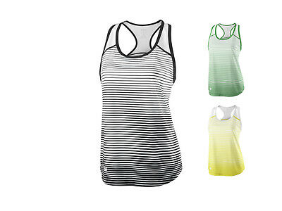 Wilson Damen Team Striped Tank Top /  Kollektion 2018