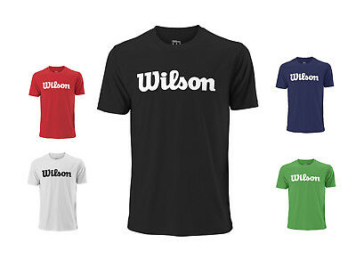 Wilson Herren Team Script Tech Tee mit Aufdruck / Kollektion 2018