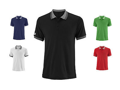 Wilson Herren Team Polo-Shirt / Kollektion 2018