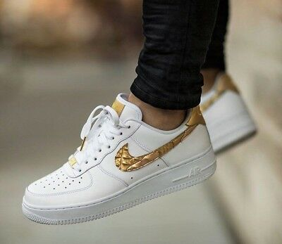 9 Edition Cr7 Whiteamp; Nike 8 'ronaldo' Gold 1 Air 10 Force Limited rBxdCoe