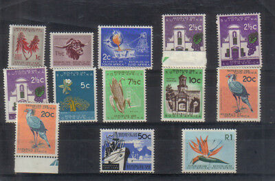 South Africa 1963-67 set mounted mint