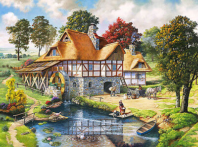 Cottages 63071 Puzzle Art Puzzle 2000 Teile