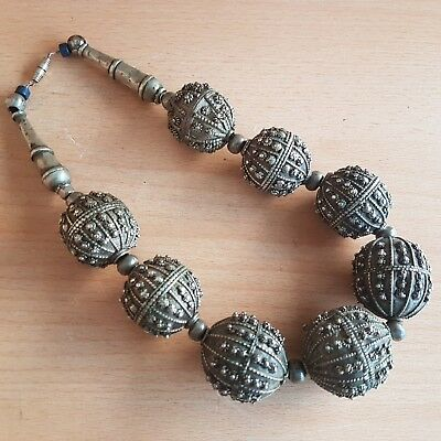 44# Old Vintage Antique Yemeni Necklace
