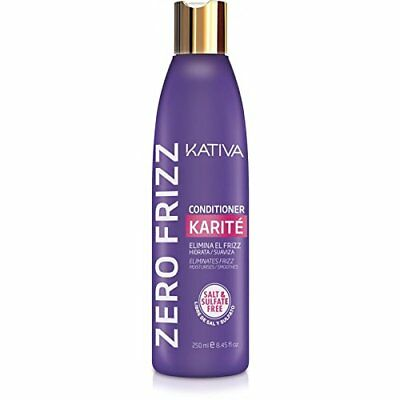 Kativa Karite Zero Frizz Conditioner 250 ml / 8.45 fl.oz.