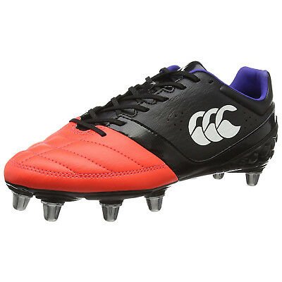 Canterbury Mens Phoenix Soft Ground Rugby Boots - New SG CCC Logo Sports Shoes