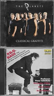 lot of 2 Semi-Classical CDs - free shipping - see photos - save 10%