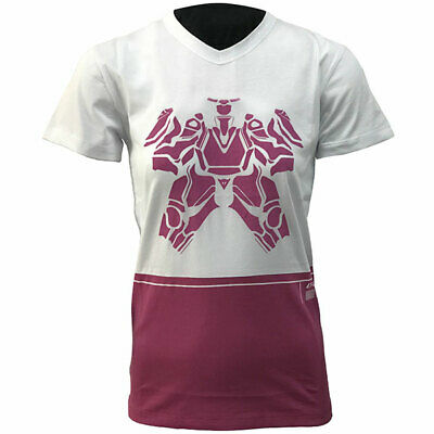 Dainese Ladies Motorbike Motorcycle Camo Tracks T-Shirt - White / Fucsia
