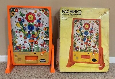 Vintage 1972 Pachinko Epoch Playthings Japanese Pinball Machine WORKS