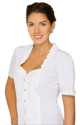 Stockerpoint Traditional Costume Blouse Clarissa White