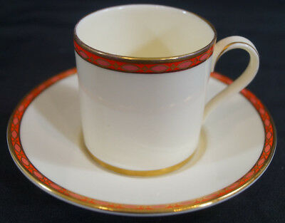 Vintage Set of 5 Minton Bone China Carlton Demitasse Cups & Saucers Circa 1951 +