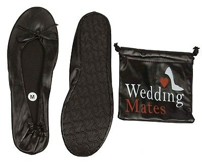 Wedding Mates Roll up after party shoes NEW STYLE! snake skin pattern /& bag