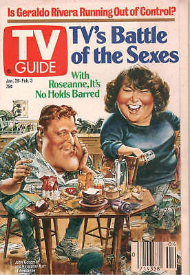 1989 TV Guide- Jan 28-Feb 3- TV's Battle of The Sexes