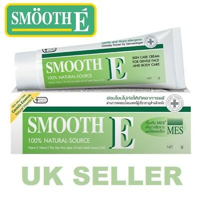 Smooth E Cream 7g Scar Reduction Stretch Marks Anti Aging Wrinkles Vitamin A C