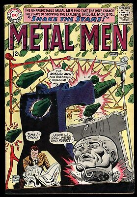 Metal Men (1963) #12 1st Print Shake The Stars Ross Andru & Mike Esposito C/A VG